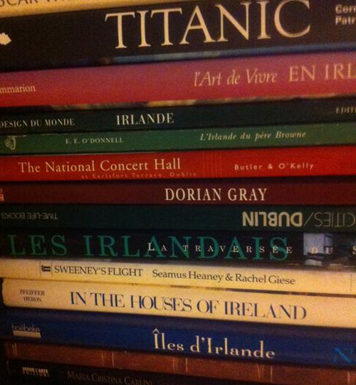 Bibliothèque  Irlandaise