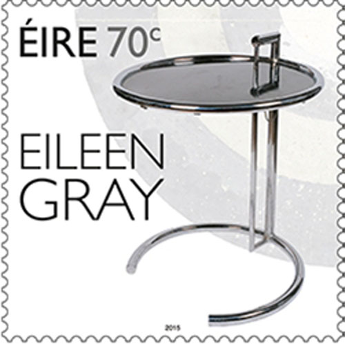 Eileen Gray :  timbres irlandais