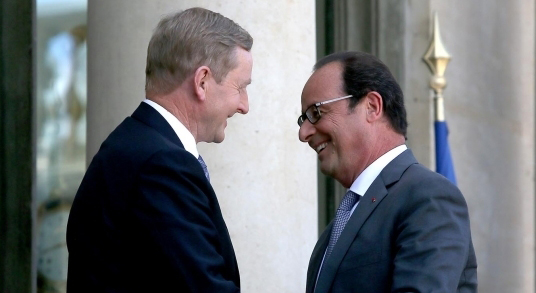 Visit to France by Taoiseach Enda Kenny