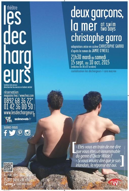 deux garçons la mer déchargeurs