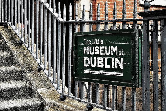 The Little museum de Dublin honoré.