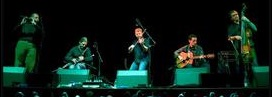 Lunasa, performing in France & CAS